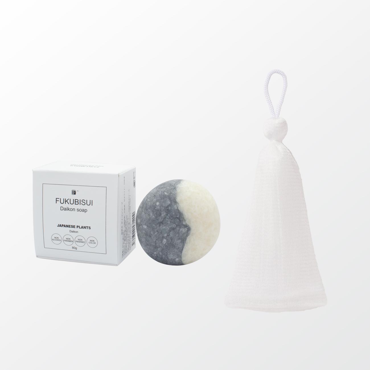 ダイコンソープ + 石鹸用泡立てネット
